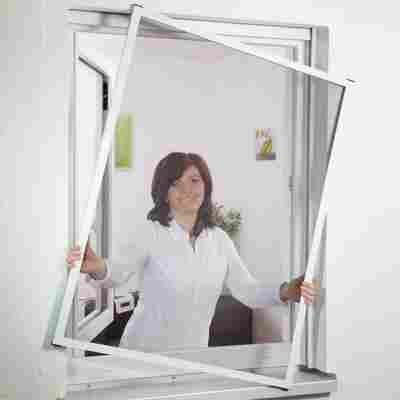"""Alu-Fenster-Bausatz """"Master Slim"""", braun, 100 x 120 cm"""