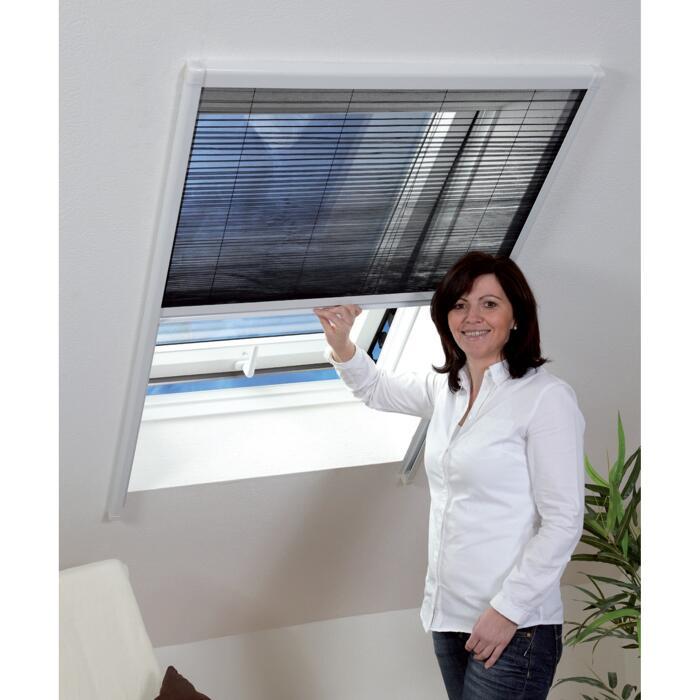 Toom Insektenschutz Plissee Fur Dachfenster Schwarz 110 X 160 Cm ǀ Toom Baumarkt