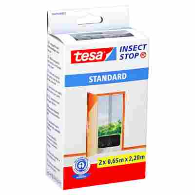 Insect Stop 'Standard' Türfliegengitter anthrazit 220 x 65 cm 2 Stück