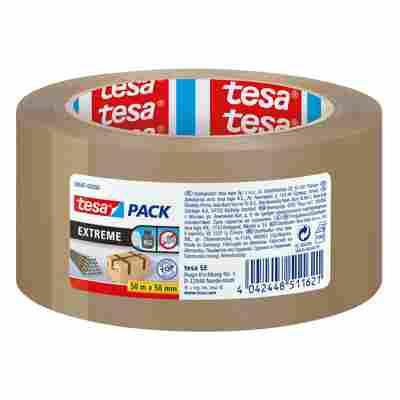 Paketband tesapack® 'Extreme' 50 mm x 50 m braun