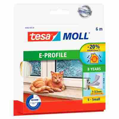 """Moll """"E-Profil"""" Gummidichtung weiß 6 m"""