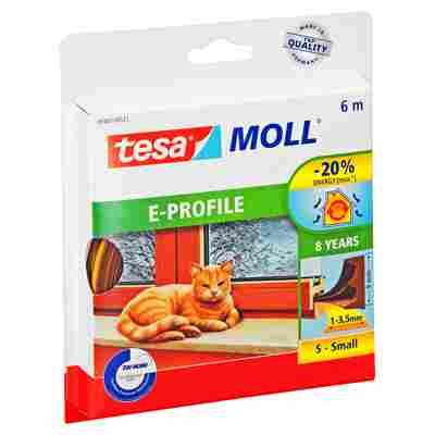 """Moll """"E-Profil"""" Gummidichtung braun 6 m"""