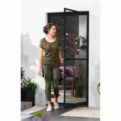 Alu-Bausatz für Türen 'Master Slim' 100 x 210 cm anthrazit