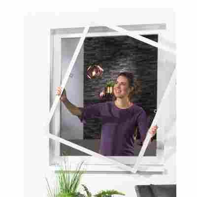Insektenschutzfenster 130 x 150 cm weiß