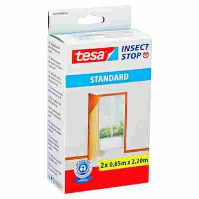 Insect Stop 'Standard' Türfliegengitter weiß 220 x 65 cm 2 Stück