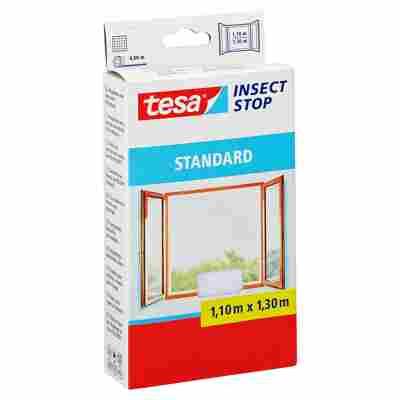 Insect Stop 'Standard' Fensterfliegengitter weiß 130 x 110 cm