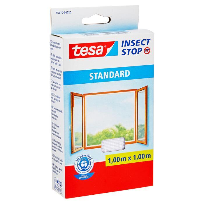 Tesa Insect Stop Standard Fliegengitter Fur Fenster 100 X 100 Cm ǀ Toom Baumarkt