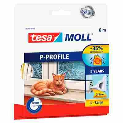 "Moll ""P-Profil"" Gummidichtung weiß 6 m"