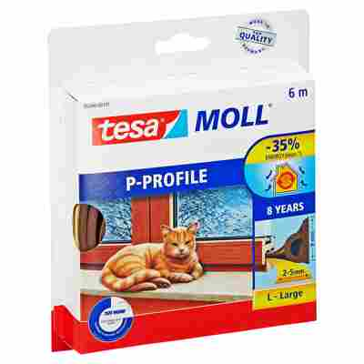 "Tesa Moll ""P-Profil"" Gummidichtung braun 6 m"