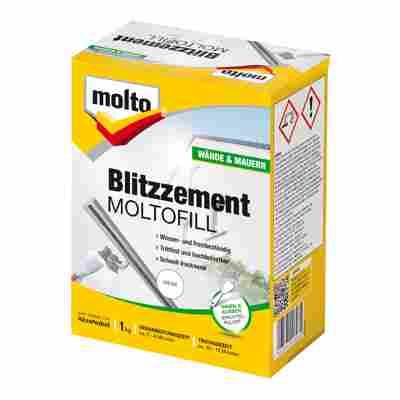 "Blitzzement ""Moltofill"" weiß 1 kg"