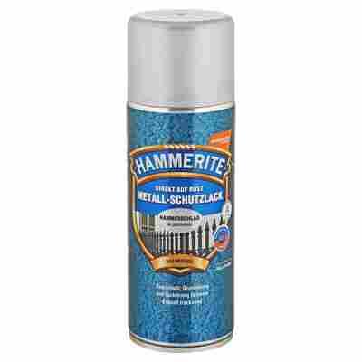Metallschutzlack-Spray 'Direkt auf Rost' silbergrau Hammerschlag-Effekt 400 ml