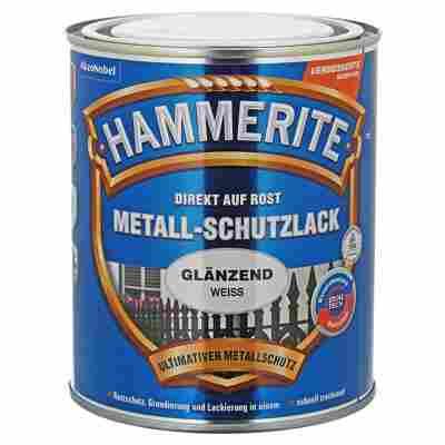 Metallschutzlack 'Direkt auf Rost' weiß glänzend 750 ml