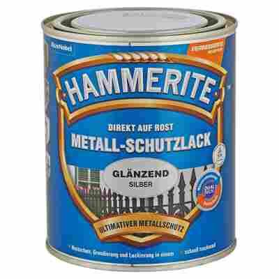 Metallschutzlack 'Direkt auf Rost' silbern glänzend 750 ml