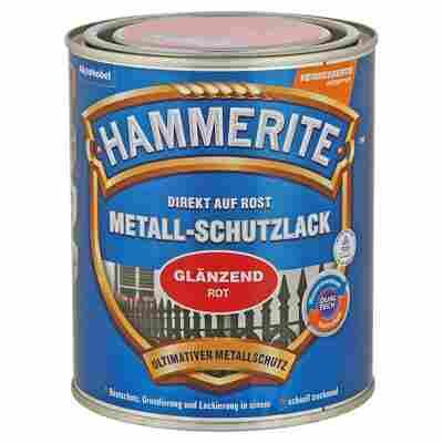 Metallschutzlack 'Direkt auf Rost' rot glänzend 750 ml
