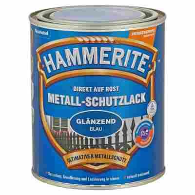Metallschutzlack 'Direkt auf Rost' blau glänzend 750 ml