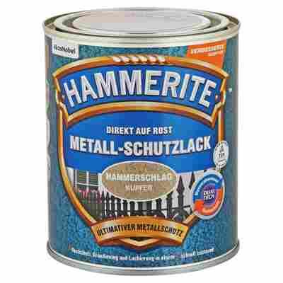 Metallschutzlack 'Direkt auf Rost' kupferfarben Hammerschlag-Effekt 750 ml