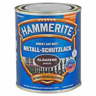 Metallschutzlack 'Direkt auf Rost' braun glänzend 750 ml