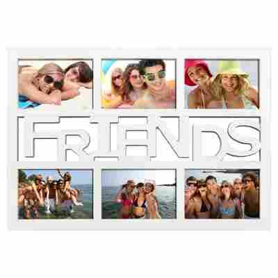 """Collagerahmen weiß 48 x 33 cm """"Friends"""""""