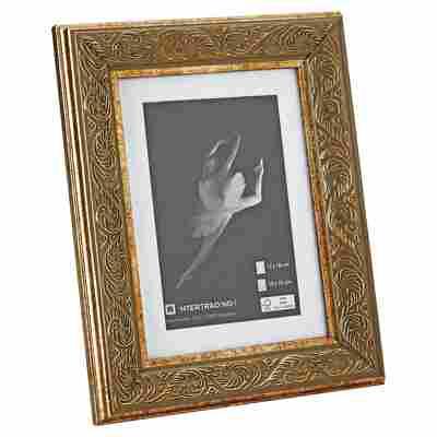 "Rahmen ""Victoria"" Holz 13 x 18 cm golden"