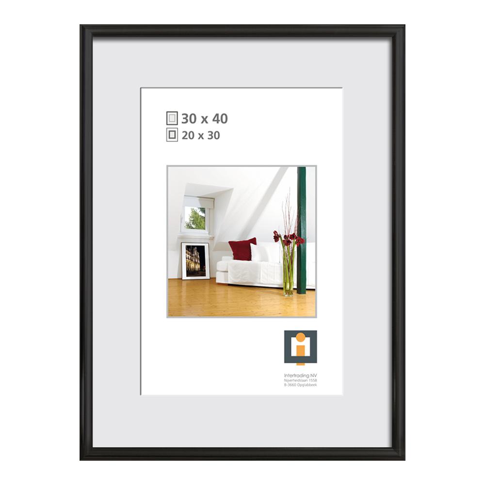 Bilderrahmen Kunststoff schwarz 30 x 40 cm ǀ toom Baumarkt