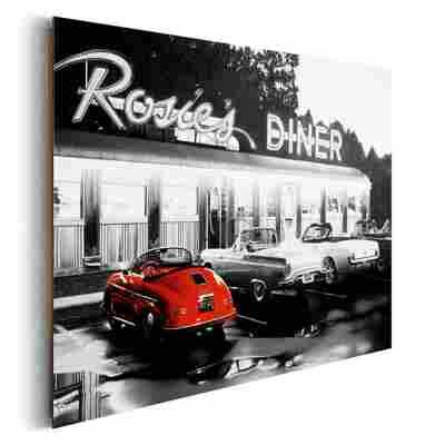 Deco Panel Rosie's Diner