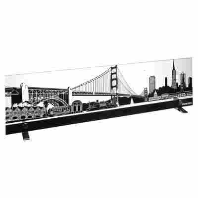 LED-Bild 'San Francisco' 74 x 19,5 x 0,4 cm