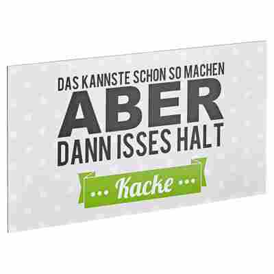 "Decopanel ""Kannste so machen"" 27 x 15 cm"
