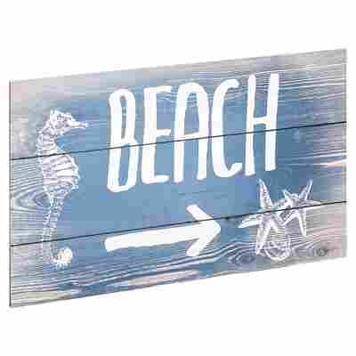 "Decopanel ""Beach"" 27 x 15 cm"