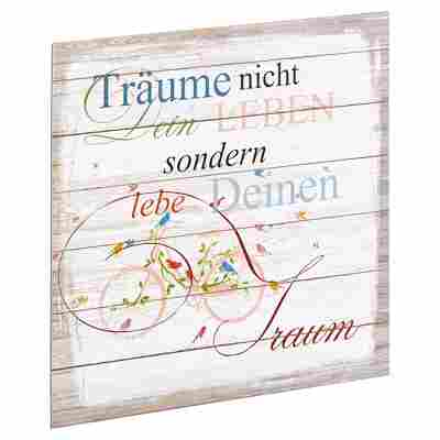 "Decopanel ""Träume"" 29 x 29 cm"