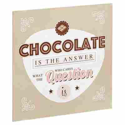 """Decopanel """"Schokolade"""" 29 x 29 cm"""