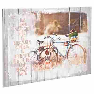 "Leinwandbild Canvas ""Fahrrad"" 77 x 57 cm"