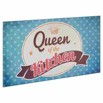 """Decopanel """"Queen of the Kitchen"""" 27 x 15 cm"""