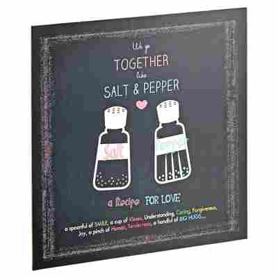 """Decopanel """"Salt & Pepper"""" 29 x 29 cm"""