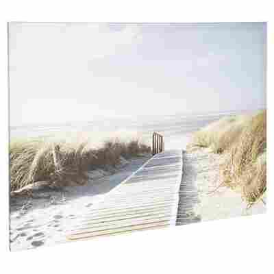 """Leinwandbild Canvas """"Seeblick 3"""" 120 x 90 cm"""