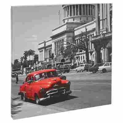 """Leinwandbild Canvas """"Autos II"""" 27 x 27 cm"""