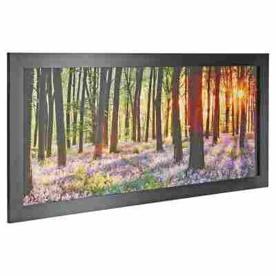 "Rahmenbild Oversize ""Waldlichtung"" 130 x 60 cm"