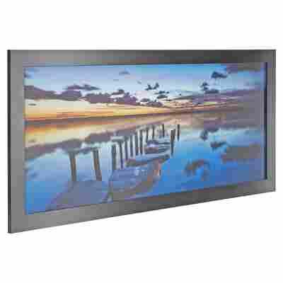 "Rahmenbild Oversize ""Sonnenuntergang"" 130 x 60 cm"