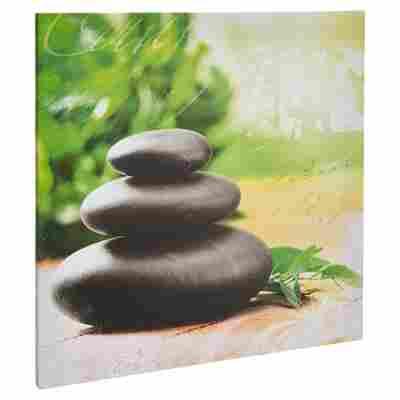"Leinwandbild Canvas ""Zen"" 50 x 50 cm"