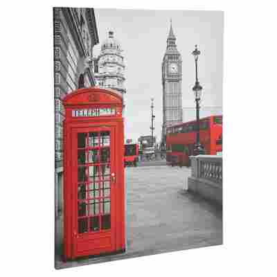 "Leinwandbild Canvas ""London"" 57 x 77 cm"