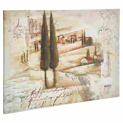 "Leinwandbild Canvas ""Charming Tuscany"" 77 x 57 cm"