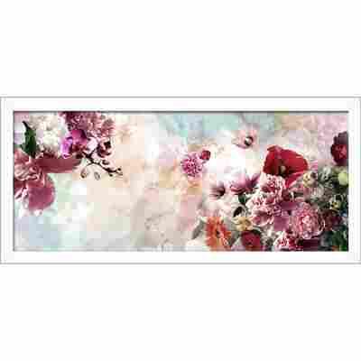 Framed-Art 'Flowers III', 60 x 130 cm