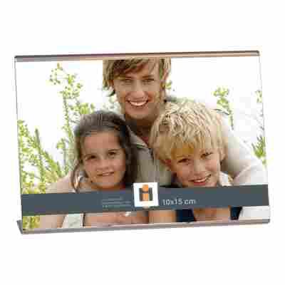 Acryl-Bilderhalter mit Standfuß 10 x 15 cm Querformat