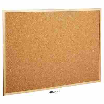 Pinnwand Holz Kork 60 x 80 cm