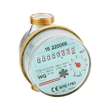 Warmwasserzähler Qn 15 127 Mm 12