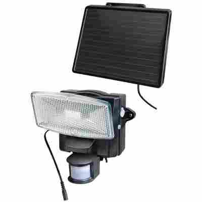 LED-Strahler 'SOL 80 plus' für außen mit Bewegungsmelder und Solar-Panel schwarz