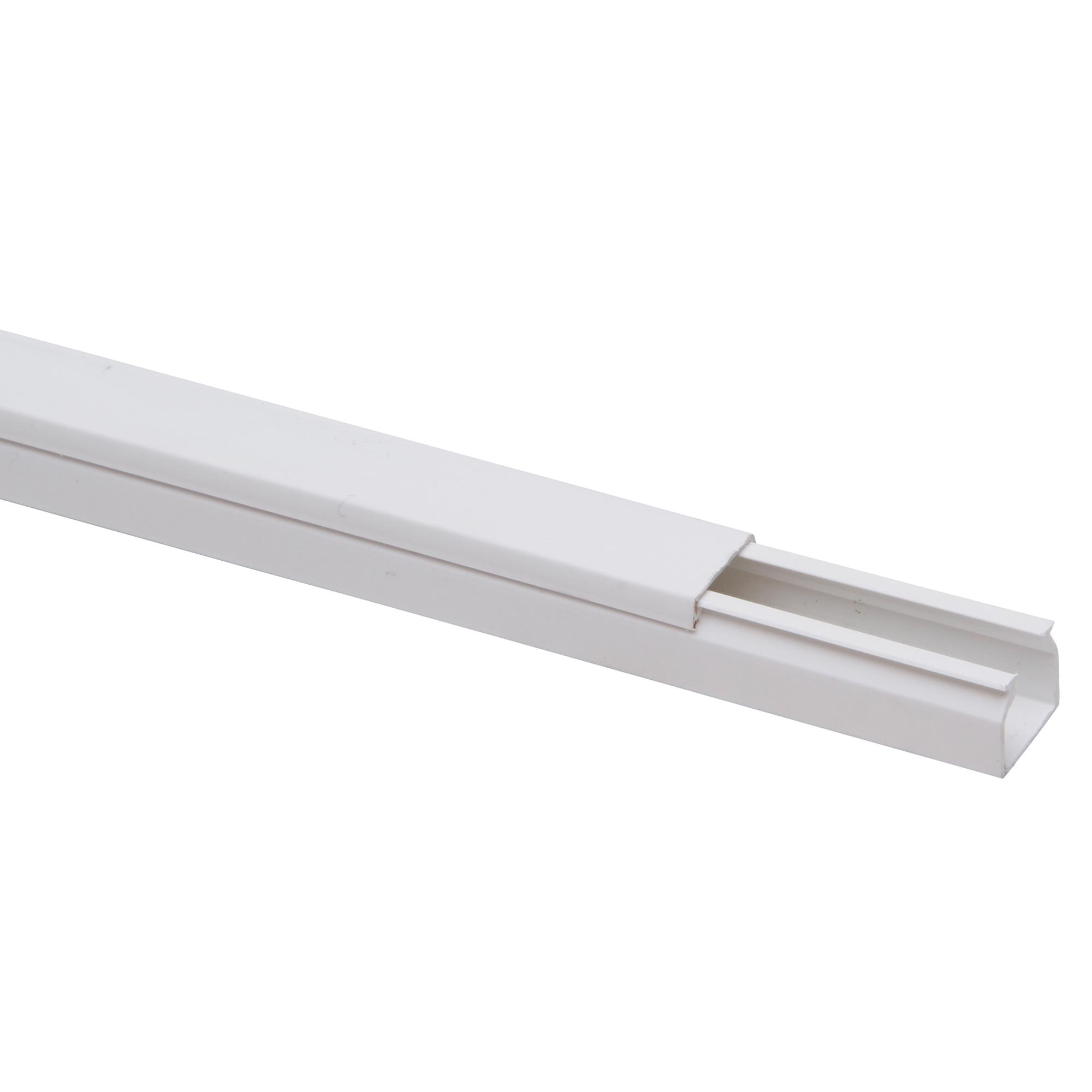 Kopp Kabelkanal weiß 2000 x 15 x 15 mm ǀ toom Baumarkt