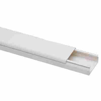 Kabelkanal weiß 2000 x 30 x 15 mm