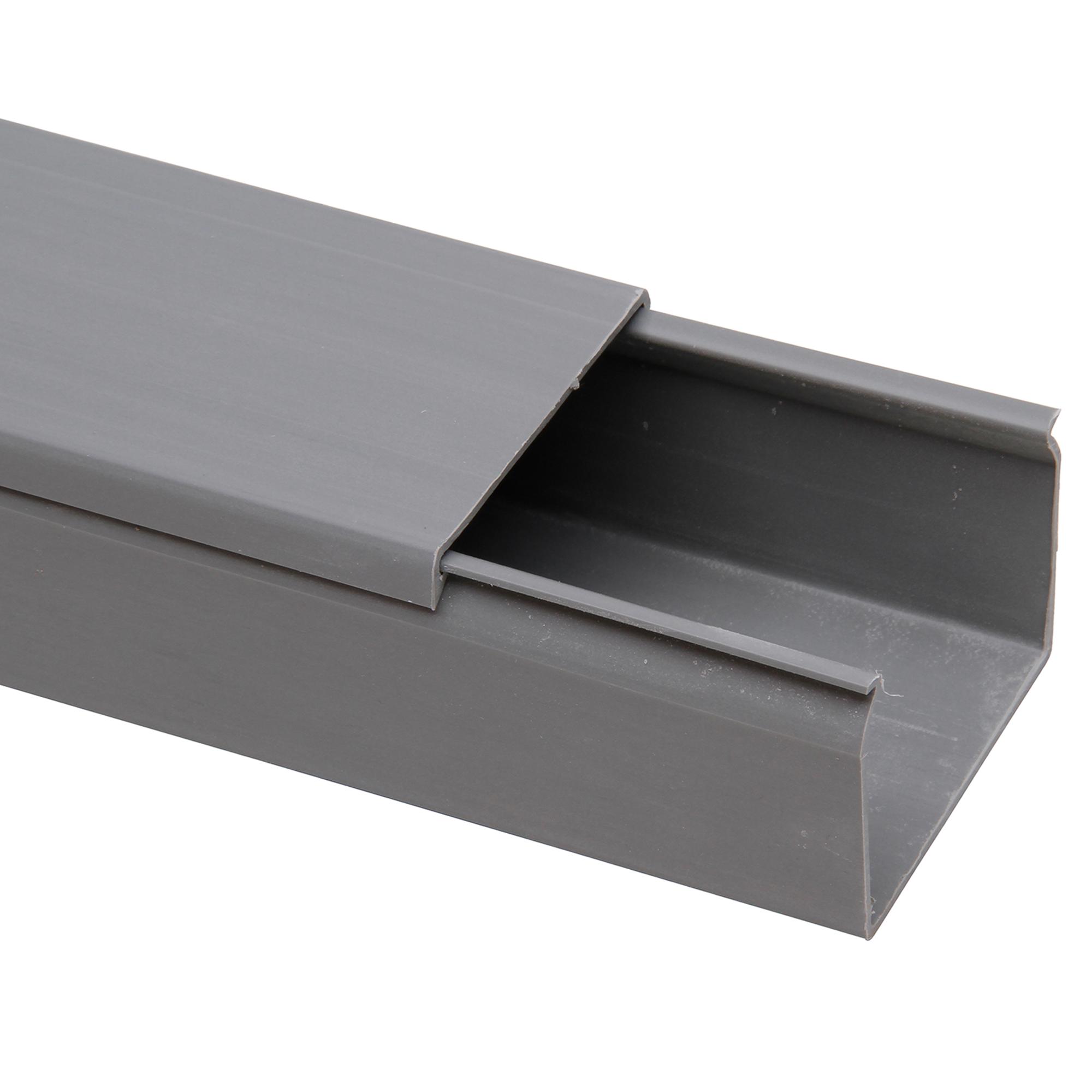Kopp Kabelkanal grau 2000 x 60 x 40 mm ǀ toom Baumarkt