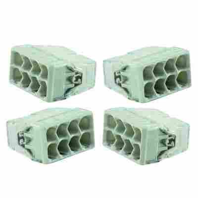 WAGO-Klemme kompakt 8-polig weiß 50 Stück