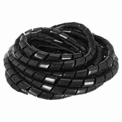 Spiralschlauch schwarz Ø 1,2 x 500 cm